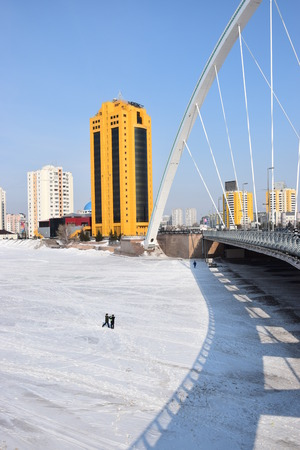 View in Astana, capital of Kazakhstan