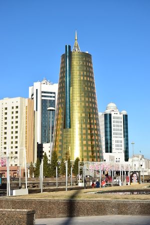 View in Astana, capital of Kazakhstan, host of EXPO 2017