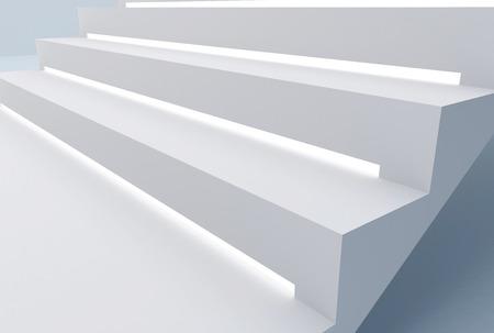 strip light in stair