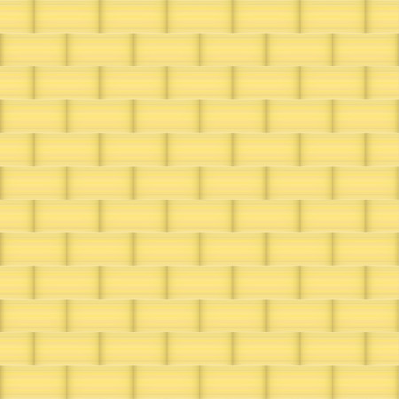 floor mat: Woven Bamboo wood Illustration
