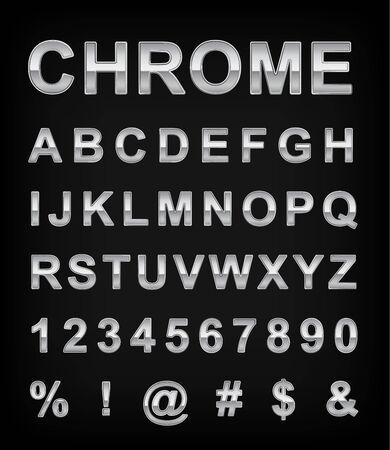 chrome: Chrome alphabet