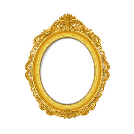 Vintage gold Bilderrahmen