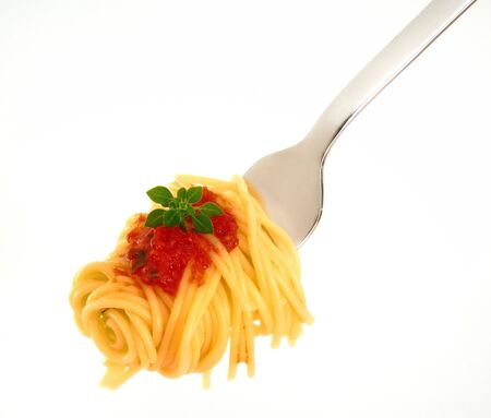 spagetti op vork