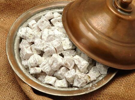 turkish sweet ( lokum ) Stock Photo - 4084702