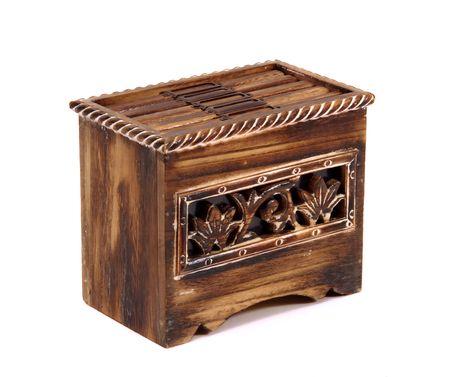 tresure: tresure box isolated at white
