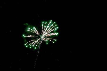 7 月の祭典の第 4 回から花火
