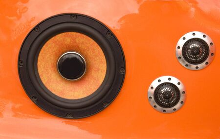 Car audio tuning - speakers photo