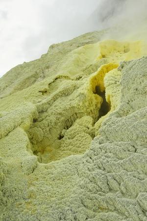 White Island - sulfur source