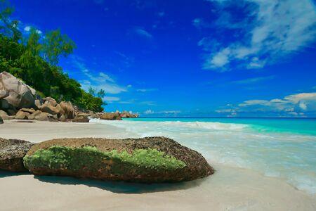 Dream beaches Seychelles Banco de Imagens