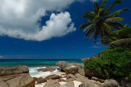 Last paradise Seychelles Banco de Imagens