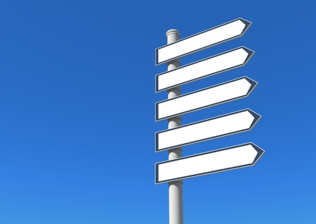 signpost arrow