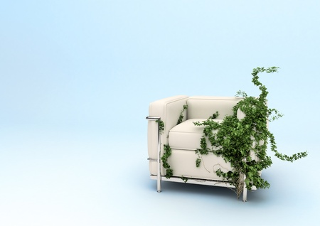 eco chair a Stock Photo - 9748971