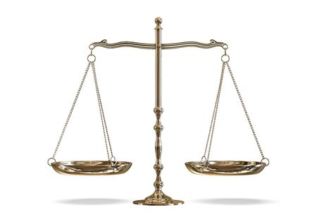 legal scales: scales Stock Photo