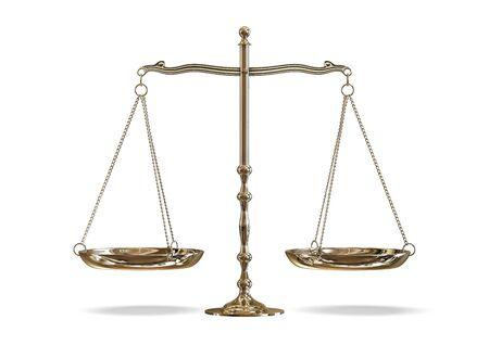 judges: scales Stock Photo