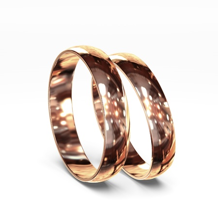 wedding vows: ring Stock Photo