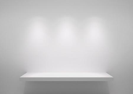 the shelf: empty Shelf
