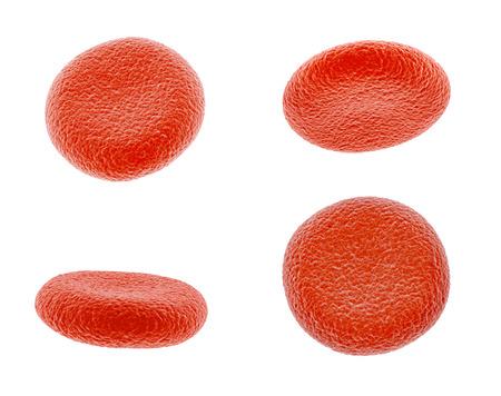 haemoglobin: Blood Cell Stock Photo