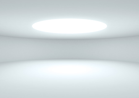 light room: empty space