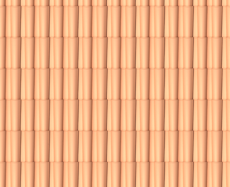 roof tile: roof tile. Seamless pattern. Stock Photo