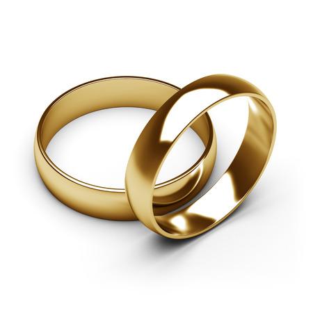 gold rings 版權商用圖片