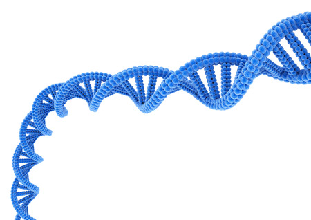 Blue DNA. Stock Photo - 82238181