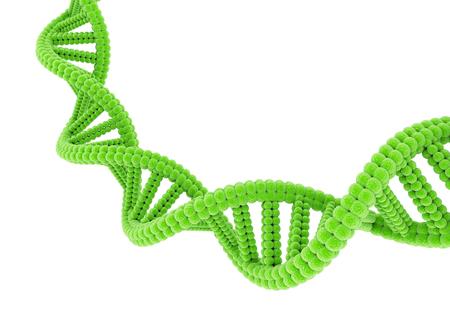 Green DNA. Stock Photo