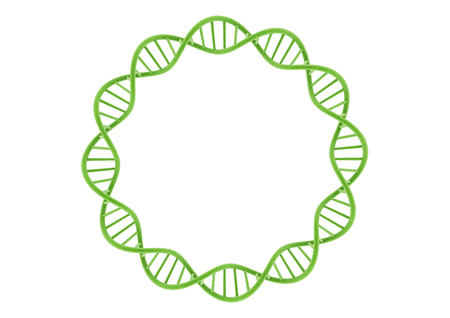 Green DNA Stock Photo - 83287950