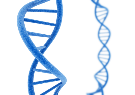 Blue DNA. Фото со стока