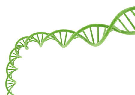 Green DNA. Stock Photo
