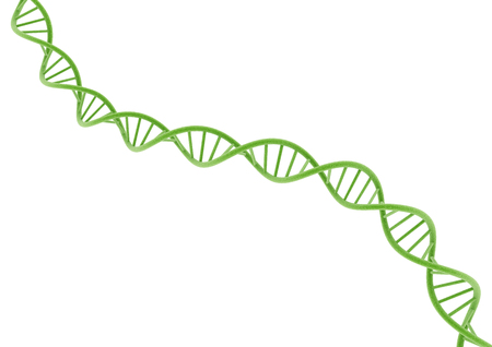 deoxyribonucleic: green DMA Stock Photo
