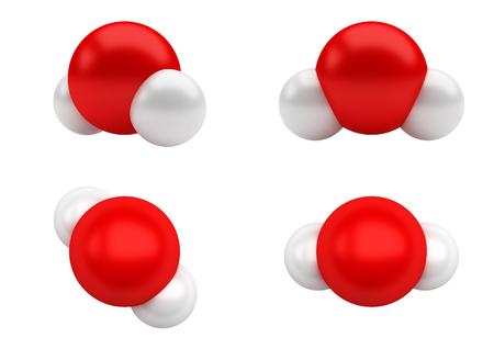 Water Molecules H2O Stok Fotoğraf