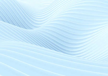 Abstract white wave background. Stock Photo
