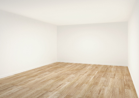空の部屋。白のインテリア。 写真素材