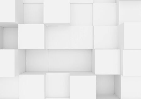 Abstract boxes.