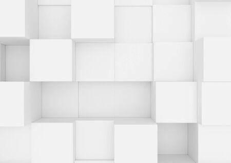 Boîtes abstraites. Banque d'images