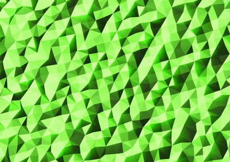 Abstract 3d Render Triangle Background. Фото со стока