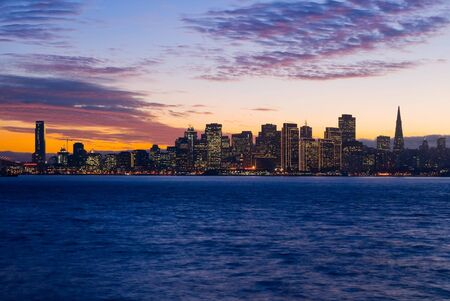 San Francisco after sunset photo
