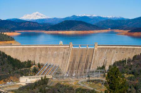 hydro power: Shasta Dam