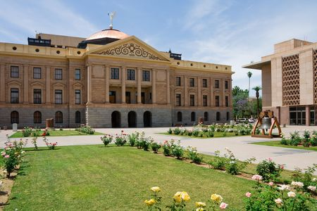 state government: Capitol Building in Phoenix Arizona