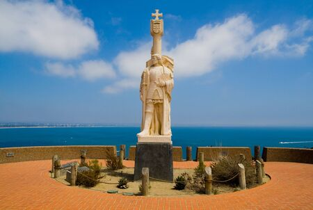 juan: Statue of Juan Rodriguez Cabrillo in San Diego, California