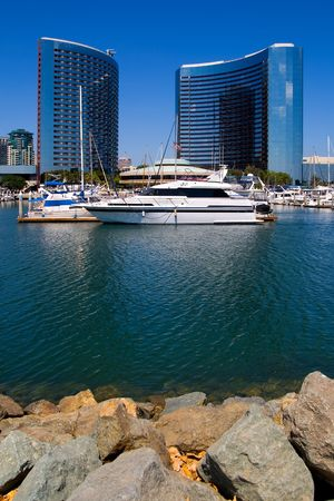 San Diego Harbor and downtown photo