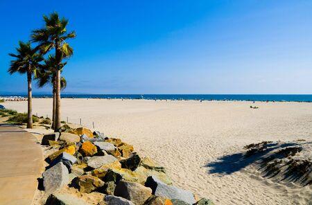 diego: Beach in San Diego Stock Photo