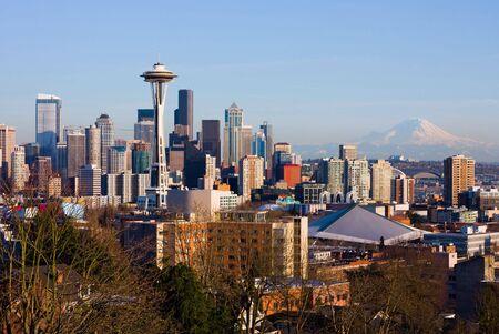seattle: Centro de la ciudad de Seattle
