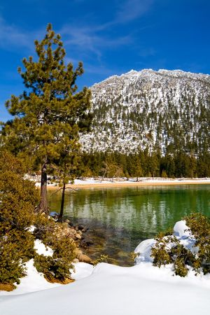 Lake Tahoe in Winter Stock Photo - 6146806