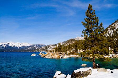 Lake Tahoe in Winter Stock Photo - 6147067