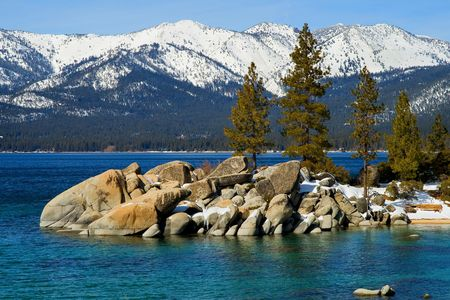 Lake Tahoe in Winter Stock Photo - 6147134