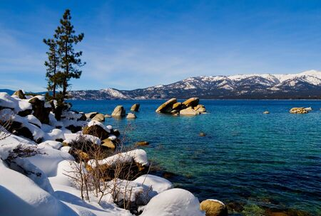 Lake Tahoe in Winter Stock Photo - 6147075