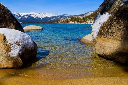 Lake Tahoe in Winter Stock Photo - 6147139