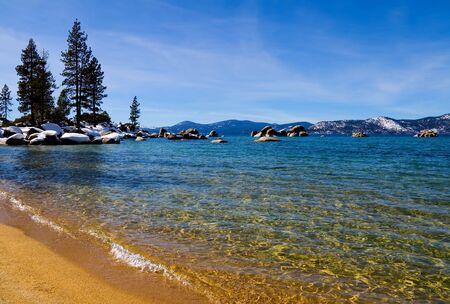 Lake Tahoe in Winter Stock Photo - 6147098
