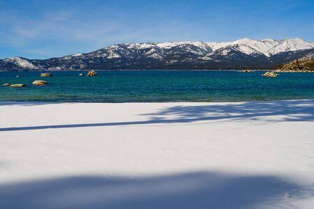 Lake Tahoe in Winter Stock Photo - 6147109